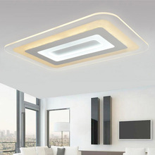 Patented product,thin only 1.8CM,living room /bedroom LED ceiling light,60 * 40cm 48W(China)
