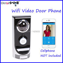 FREE Shipping Wifi Video Door Phone Wifi Doorbell Camera Video Intercom CR770 for Android & IOS system Smart Phone Tablet