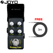 Joyo Rushing Train Amp Simulator Electric Guitar Effect Pedal Classic Liverpool Sounds True Bypass JF-306 with Free 3m Cable(China)