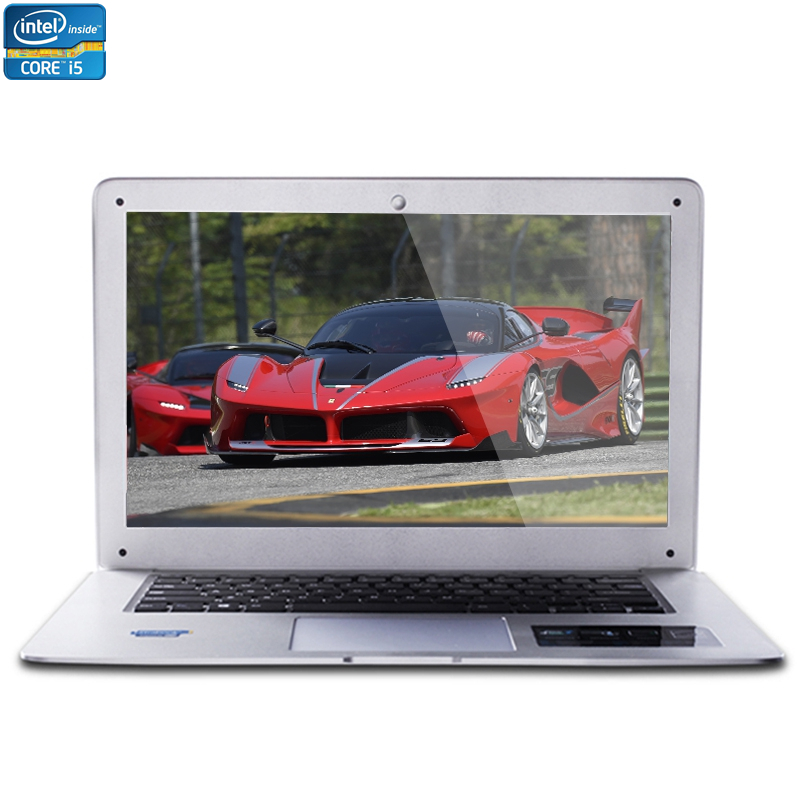 14inch Intel Core i5 CPU 8GB RAM+64GB SSD+500GB HDD Dual Capacities Windows 7/10 System Fast Boot Run Laptop Notebook Computer(China (Mainland))