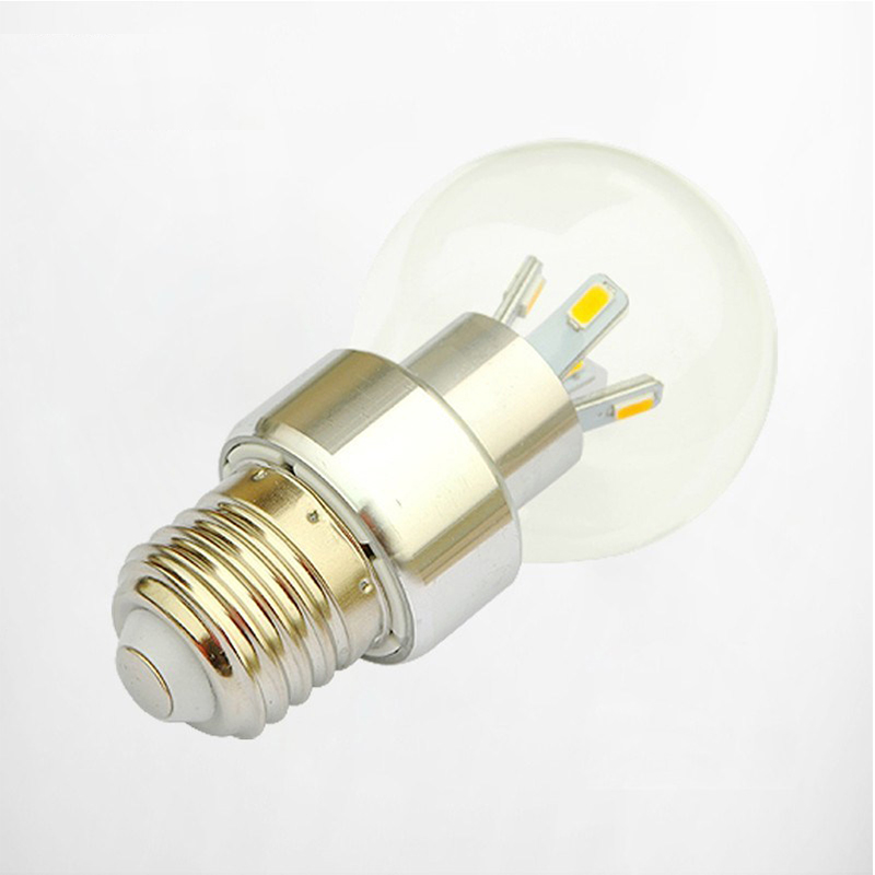 Globe led bulb e27 base glass shade + metal body  3w 5w high quality led chip for home lighting art deco led lighting fixtures<br><br>Aliexpress