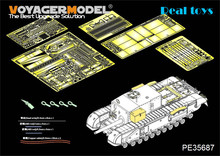 Voyager MODEL 1/35 PE35687 WWII British Churchill 3inch gun 20 CWT Gun (For AF35253)