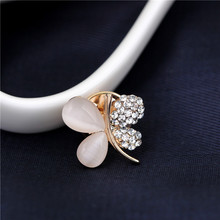 2017 rhinestone brooch pins flower jewelry for wedding pins and brooches for women broshi accessories danbihuabi china jewelry