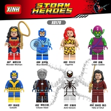 TMGT Single Sale X0170 Super Heroes Wonderwoman Talia al Ghul Citizen Steel Building Blocks Bricks Kids DIY Toys Hobbies Gift(China)