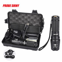 Super 5000lm Shadowhawk X800 Tactical Flashlight LED Zoom Military Torch G700 170120