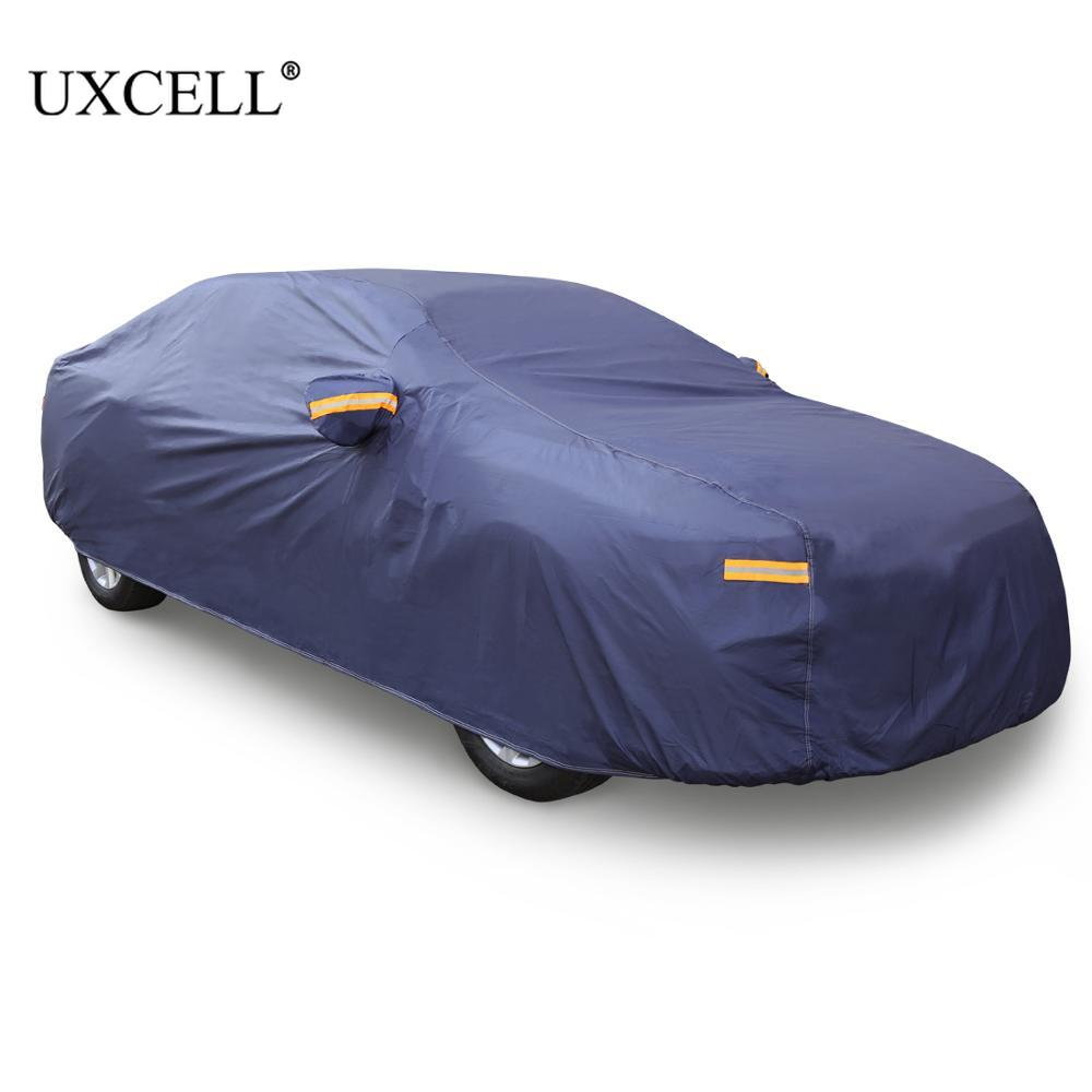 Stormproof Waterproof Breathable Black CAR COVER Outdoor Dust UV Prevention
