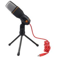 Factory price Hot Sell Condenser Sound Noise Cancelling Studio Microphone Mic For Chat PC Laptop Skype MSN New fashion Suppion(China)