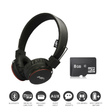 Economic Set: Original NIA X2 + 8 GB Micro SD Card a Set Bluetooth Headphones Wireless Headsets headphones with Microphone(China)