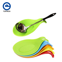 Hot Silicone Spoon Resistant Heat Insulation Pad Home Kitchen Accessories Table Mat/Coaster Tray Silicone Placemat Holder