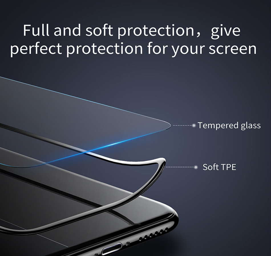 Baseus-3D-Arc-Edge-Screen-Protector-For-iPhone-8-Full-Screen-Cover-PET-Tempered-Glass-Protective