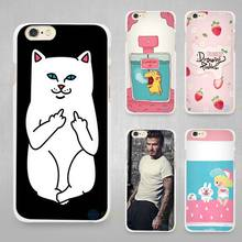 Trendy Girl Love Potion Chill Pills Ripndipp Rock Kitten Cat Hard White Cell Phone Case Cover for Apple iPhone 4 4s 5 5C SE 5s 6(China)