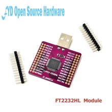 CJMCU-2232 FT2232HL USB to UART FIFO SPI I2C JTAG RS232 module(China)