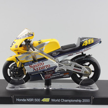 1:18 scale Leo No.46 Valentino Rossi MotoGP Honda NSR 500 World Champion 2000 Motorcycle motor bike diecast model collection toy