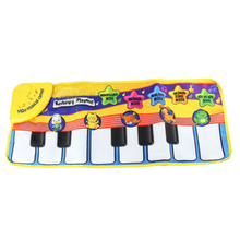 Kid Baby Animal Voice Piano Touch Play Game Carpet Mat Musical Toy Mat for Bay Kids 72 x 28cm