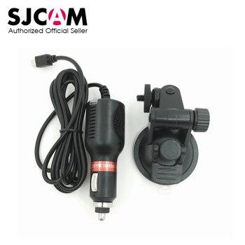 SJCAM Chargeur De Voiture Mont + Ventouse Support pour SJ6 Légende SJ7 Étoiles SJ360 Action Sports Caméra