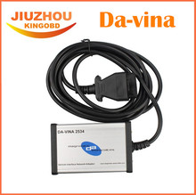 2017 High Performance Top Rated DA-VINA 2534 For J-aguar L-andR-over Approved SAE J2534 Pass-Thru Interface Diagnostic Tool(China)