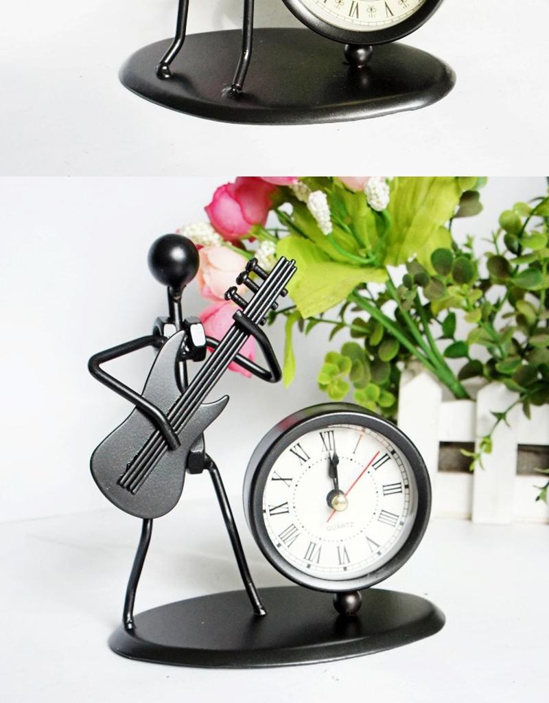 clock bicycle bureau kalender mesa vintage ahşap saat circular wood azan wall clock retro bamboo clock clock with pendulum clock humidity (6)