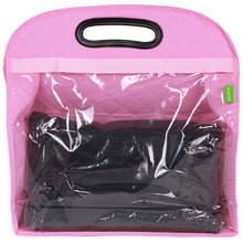 High Quality Hanging Transparent Storage bags Wardrobe Dust Cover Bag Handbag Clothes Finishing Dustproof Keep clean Organizer(China)