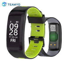 Buy Teamyo Fitness Tracker Smart Band Blood Pressure Watch Blood Oxygen Heart Rate Monitor Smart Bracelet Android IOS smartband for $25.99 in AliExpress store