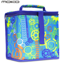 Insulated Lunch Bag,Reusable Outdoor Travel Picnic School Lunch Box Collapsible Tote Bag with Zipper Closure,Foldable,Multi-use(China)