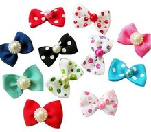 Wholesale Pet Supplies Product Handmade Dog Accessories Hair Bows Grooming Dog Show Supplies More Colors 50PCS/LOT