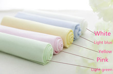1 meter solid color 100% cotton knitted super soft baby cloth bedding fabric, children kids jersey cotton cloth 100cm x 170cm(China)