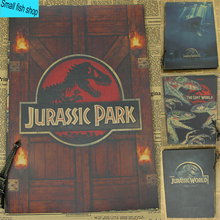 Jurassic Park Dinosaur world Movie Poster Home Furnishing decoration Kraft Movie Poster Drawing core Wall stickers(China)