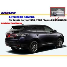 License Plate Light OEM / HD CCD Night Vision Car Rear Camera / Reverse Camera For Toyota Harrier 1998~2003 / Lexus RX 300 RX300