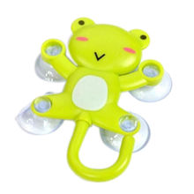 1Pcs New Arrival Fashion Cute Cartoon Sucker / Sucker Hook Robe Hook Frog Panda Pig Bee Designs Bathroom Accessories