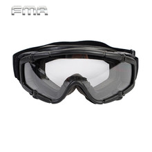 FMA Goggle Glasses 1pc of Lens Airsoft Tactical Eye Protector For Paintball Nylon Eyeglasses Hunting Accessory/Gear BK TB421(China)