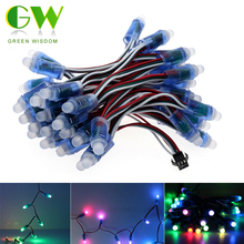 WS2811 Full Color LED Pixel Module IP68 Waterproof RGB LED Module DC12V String Point Lights 50pcs/ lot