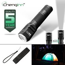 Convoy Flashlight Tazers Waterproof Aluminum 18650 Rechargeable Zoom Cree Led Hand Light 260lm Lamp Mini Torch Lantern Ce01
