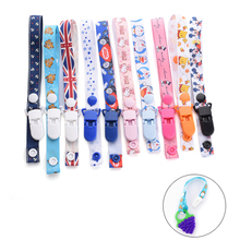 1pc Pacifier Chain Baby Stroller Toys Rope Teethers Pacifiers Bottle Strap Holder Toys Cups Anti-lost Strap Colorful Accessories