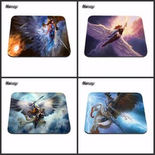 Mairuige Magic The Gathering Angel Gaming Mouse Mat Rubber Pad Customized Support Durable Mat Custome Make Your Own Mat(China)