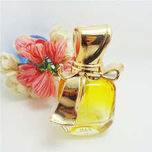 Free shipping 1pcs/lot 15ml UV Bow Cover Perfume Bottles Glass Empty Bottles Mini Ztomizer Bottles Brand Name Perfume Bottles(China)