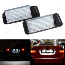 2x 3 Series E36 90-98 LED Licence REG Number Plate Light White Error Free M3(CA246)(China)