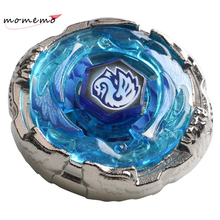 MOMEMO 1pcs Mini Beyblade Metal Fusion Toys Cygnus 4d Beyblades with Pull Ruler Launcher Metal Master Spinning Beyblade for Sale