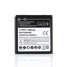 Rechargeable Phone Replacement 1800mAh Battery Batteries Bateria For HTC Shooter G14 Sensation G17 Z710e EVO 3D Sensation 4G(China)