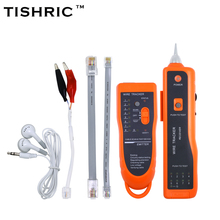 TISHRIC UTP STP Cat5 Cat6 RJ45 LAN Network Cable Tester Line Finder RJ11 Telephone Wire Tracker Tracer Diagnose Tone Kit XQ-350(China)
