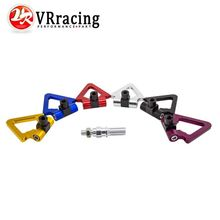 VR RACING - Japan Models Car Screw Aluminum CNC Triangle Ring Tow Towing Hook JDM RACE For Honda Toyota VR008