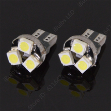 10Pcs Best Price Car Dash Warning LED Lights T5 3 SMD 3smd 3led 1210 Auto 3528 Instrument Lamps Interior Bulbs DC12v