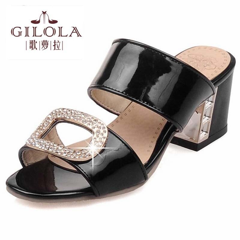 2016 new platform rhinestone high heels women sandals spring summer black pink nude ladies womens shoes woman best #Y0575032F<br><br>Aliexpress