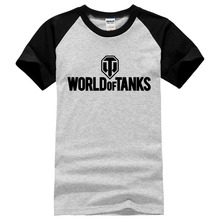 2017 summer style Funny World Of Tanks T Shirt men Manufacture World War ii Tank T-SHIRT Men Short-sleeve Top Tee brand clothing