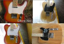Free shipping Vintage Sunburst Telecaster electric guitar made in china guitar(China)