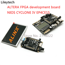 ALTERA FPGA development board NIOS CYCLONE IV EP4CE15 EP4CE15F23C8 DDR2 Gigabit Ethernet board