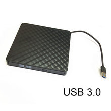 Portable USB3.0 External CD/DVD/VCD Optical Drive CD-RW Writer Recorder Driver for PC Laptop Computer XXM8(China)