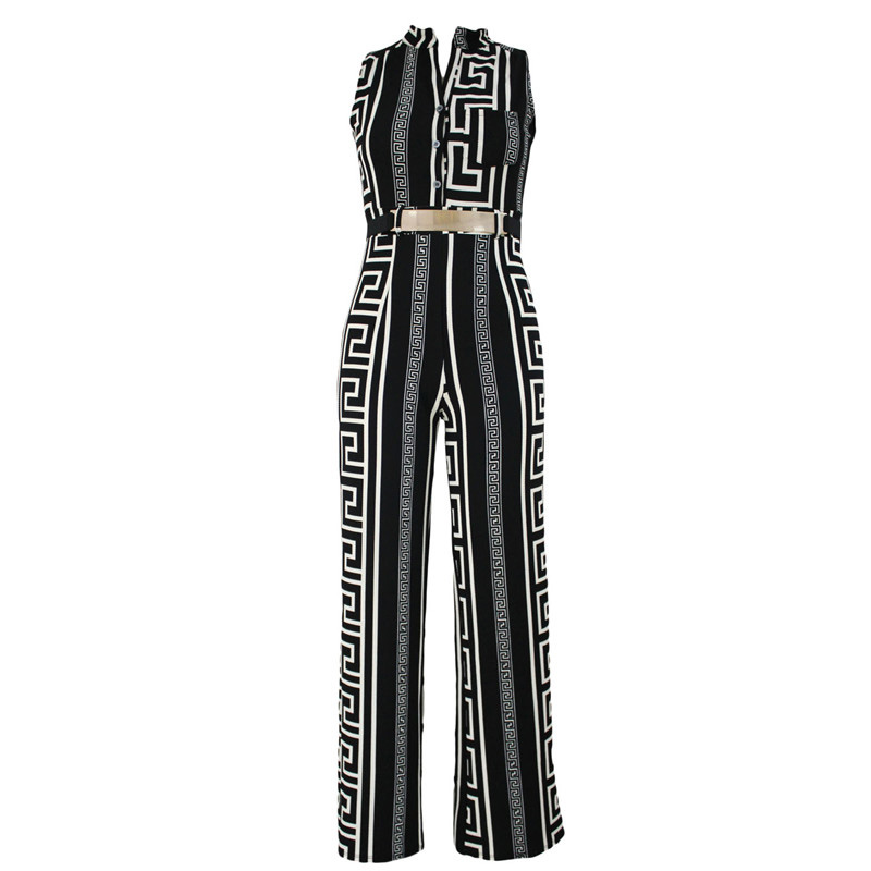 Dear-Lover-Wide-Leg-Jumpsuit-Overalls-2016-Long-Trousers-Outfits-Fashion-Women-Black-Print-Gold-Belted (4)