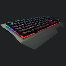 Original 104 LED Progaming Aluminum Alloy Professional Computer Gaming Ergonomics Mechanical Keyboard High Quality!