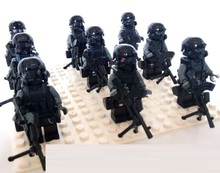 9pcs Special forces gun Guns Weapons Original Toy Swat City Police Military Weapons Accessories Compatible lepin mini figures