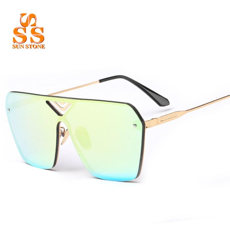 SUNSTONE Womens Fashion Colorful UV400 Sunglasses &amp; Case Elegant Designer Stars Style Exquisite Open Air Sun Blinkers SC34<br><br>Aliexpress